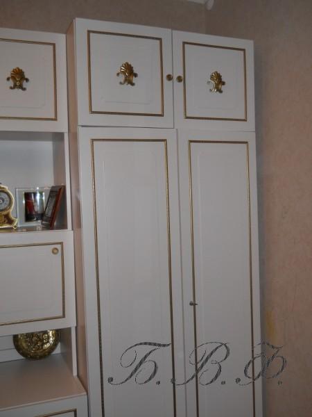 Как декорировать шкафы своими руками фото