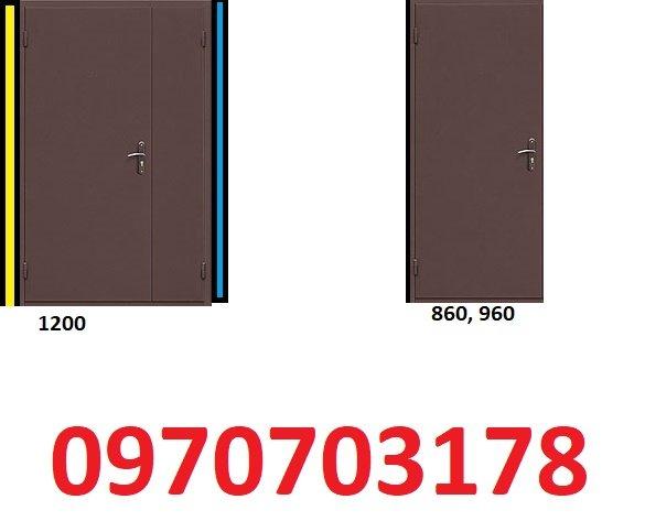 Фото 1 металические двери входние технические 336319