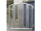 Ворота, заборы, калитки из нержавеющей стали
