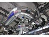 Фото  2 Готовый отвод ПВХ на трубу диаметром 40х022мм с базальтовой или каучуковой изоляцией для наружного применения. 2066245