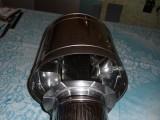 Дефлектор - волпер. Дефлектор изготовлен из нержавеющей стали 304. Устанавливает на верхнюю часть дымохода.