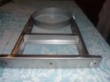 Кронштейн регулируемый,удлинённый для дымохода. Изготовлен из нержавеющей стали AISI 304 толщиной 1мм. Под диаметр 260мм
