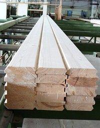 Фото  1 Производство клееного бруса балочного типа, конструкционного типа, хвойных пород различных сечений. 108091
