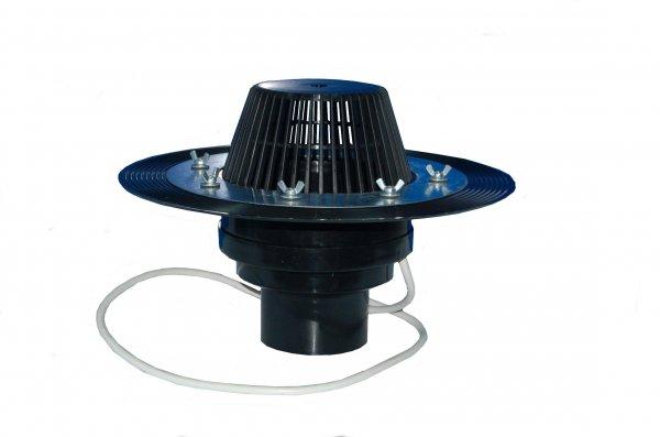 Фото  1 Воронкакровельная с электроподогревом, высота 100мм, диаметр 110 ммм. 285780