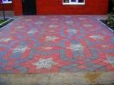 Тротуарная плитка. Одесса.