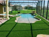 Фото  1 Декоративная искусственная трава ковролин для интерьера, для декора, для басейнов, для ландшафтов 2.5 2134619