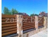 Деревянные заборы для дачи   Фото заборов