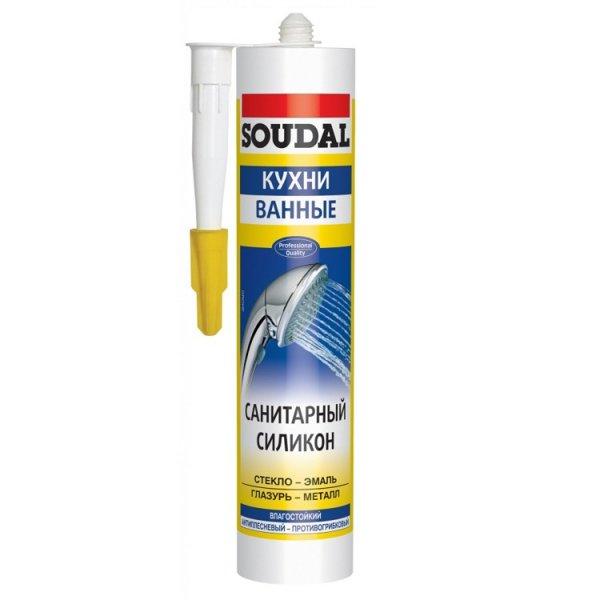 Фото  1 Soudal санитарный силикон 1811879