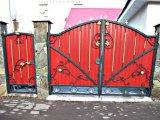 Фото 3 Ворота кованые с калиткой 332647