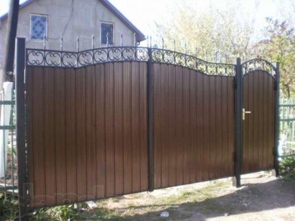 Фото 5 Ворота кованые с калиткой 332647
