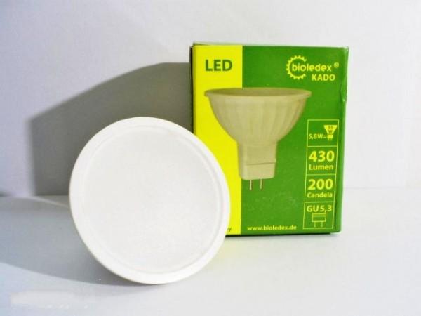 Светодиодная лампа MR16/GU5,3 Bioledex KADO 12V 5,8Вт 120° с теплым светом