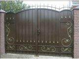 Фото 1 Ворота с элементами ковки 332669