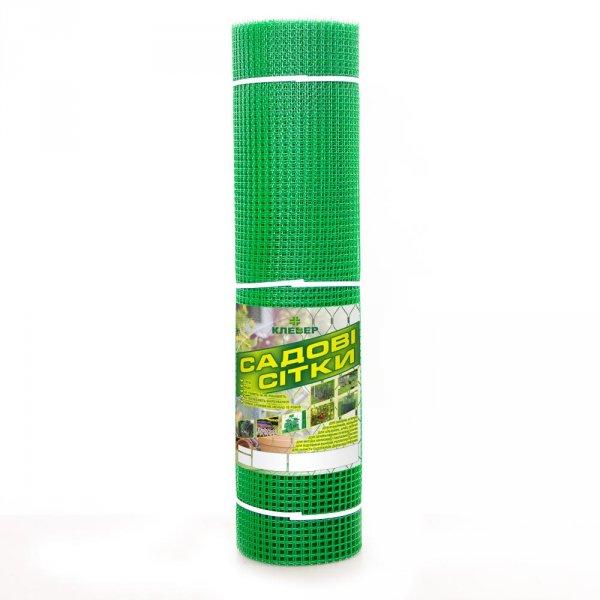 Фото 1 Сетка пластиковая садовая Клевер 13х13 мм 1х20 м зеленая 332152