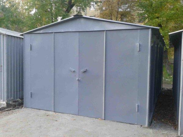 Фото 1 Металевий гараж зі сталі 1,2 мм 303252