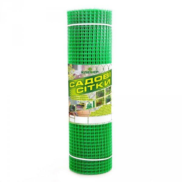 Фото 1 Сетка пластиковая садовая Клевер 20х20 мм 1х20 м зеленая 332153