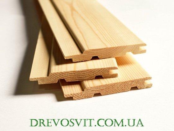 Фото 1 Евровагонка деревянная Таврийск 324688