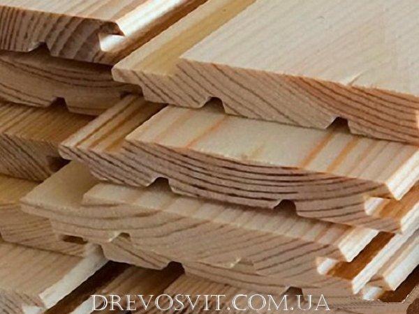 Вагонка деревяна сосна Судова Вишня