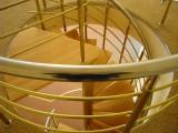 Перила, лестницы, поручни нержавеющая сталь под ключ вовремя!!! : поручень 50мм. стойка 33мм. заполнение 20 мм.