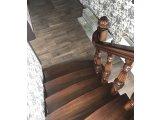 Фото 1 Лестница из массива Дуба на второй этаж 329433