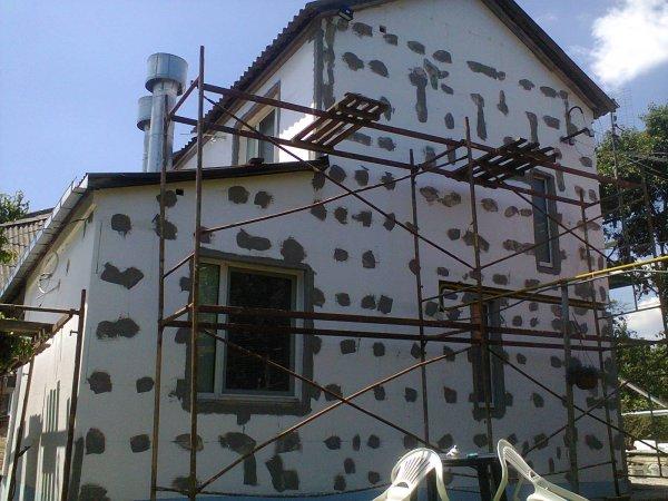 Фото  1 УТЕПЛЕНИЕ ФАСАДОВ. Выполняем утепление фасадов коттеджей, квартир и загородных домов. 68241