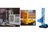 Фото  2 Н-77 м, г/п 2000 кг, 2 тонны. Мачтовый секционный подъёмник грузовой строительный для отделочных работ. 2020255