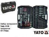 Фото  1 Профессиональный набор инструментов (ключей) Yato YT-3884_1 на 216 предметов, набір ключів Ято 2098930