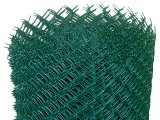 Фото  1 Сітка рабиця для огорожі з ПВХ покриттям зелена, висота 1,2м, вічко 35х35мм 2257947