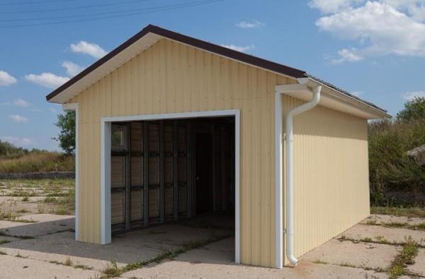 Как построить гаража фото