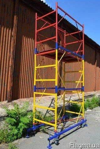 Фото  1 Вышка-тура строительная 1.7х0.8 м для внутренней и наружной отделки здания. Цена от производителя 1921495