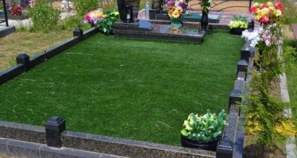 Фото  1 Декоративная искусственная трава ковролин для интерьера, для декора, для басейнов, для ландшафтов 2134615