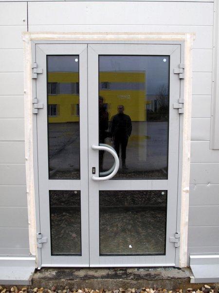 Фото 2 Качественные ✔Алюмииевые входные двери по доступным ценам 2457