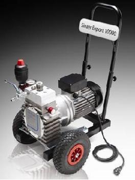 окрасочный агрегат SINAER EXPORT 10000 мощность 2,2 квт 250бар до 8 л/мин