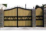 Фото 6 Ворота кованые с калиткой 332647