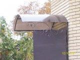 Фото  2 Козырек. Используемые материалы - профильная труба 20х20мм, поликарбонат бронзовый толщиной 8мм.Цена указана зам2. 294597