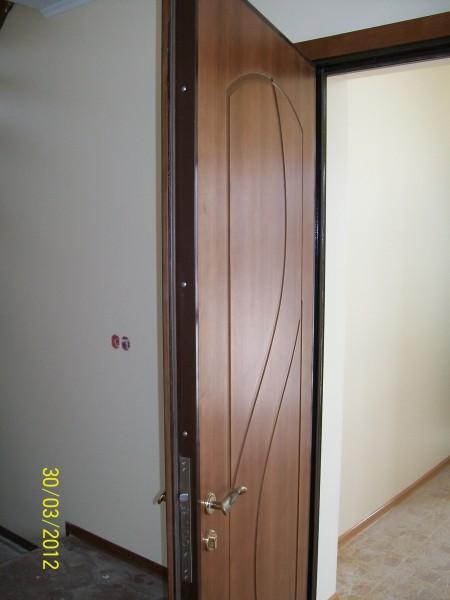 Входная металлическая дверь. Под заказ.