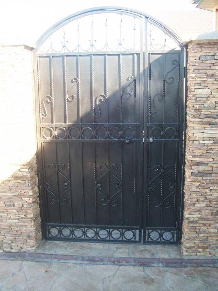Фото 7 Ворота с элементами ковки 332111