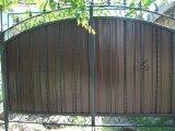 Фото 2 Ворота с элементами ковки 332111