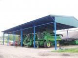 Навес для сельхозтехники 17 * 30 * 5 . 225т.грн