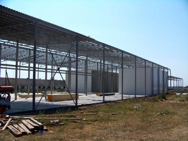 Будівництво холодильних камер,овочесховищ.
