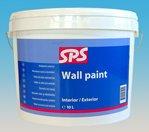 Фото  1 SPS Wall Paint Interior Exterior акриловая краска 1806883