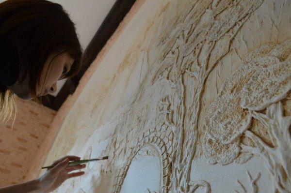 Фото 1 декор стін, художній розпис стін. БАРЕЛЬЄФ, обємні картини 334833