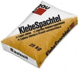 Фото  1 Baumit KlebeSpachtel клеевая шпатлевка 1811801