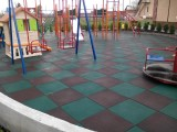 Резиновые покрытия для открытых детских и спортивных площадок