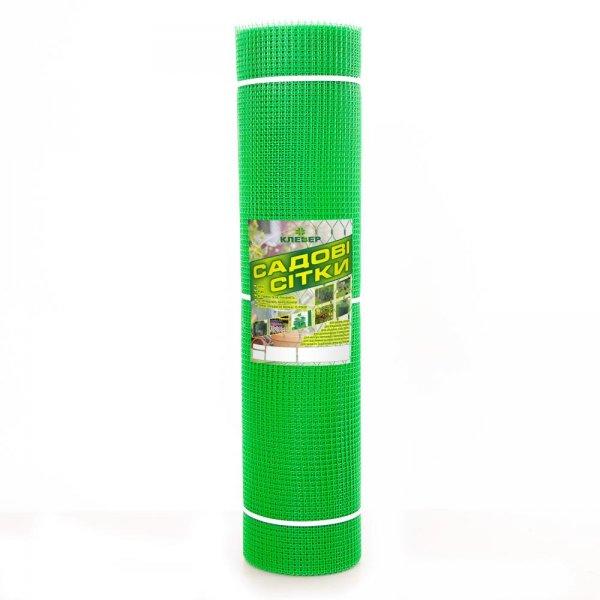 Фото 1 Сетка пластиковая садовая Клевер 10х10 мм 1х20 м зеленая 332154