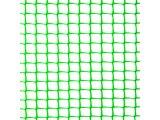 Фото 3 Сетка пластиковая садовая Клевер 10х10 мм 1х20 м зеленая 332154