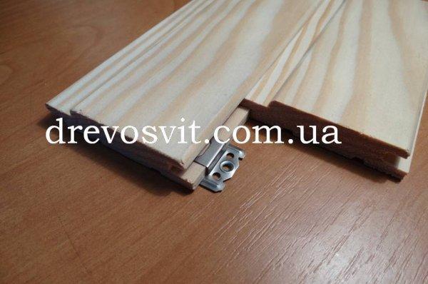 Фото  1 Вагонка соснова в асортименті. Довжини від 0,5м до 3,0м. Ширина 80 мм. Доставка з виробницва. Без передоплати 1443568