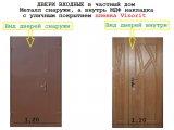 Фото 1 двери металл мдф входные металл мдф уличные двери входные 336320