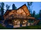 Канадские срубы, постройка деревянных домов, срубов, бань