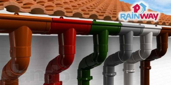 Фото 4 Водосточные системы Rainway (Украина) купить водостоки 28190