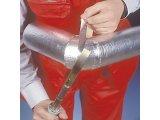 Фото  6 Утеплитель базальтовый для труб PAROC Hvac Section AluCoat T / Парок, плотность 600кг/м3, диаметр 664мм, толщина 30 мм. 6965756